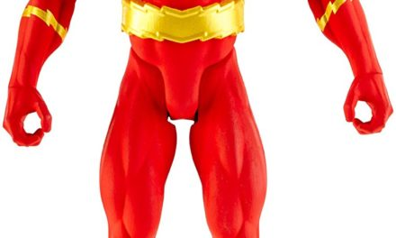 DC Comics Flash Action Figure, 12″