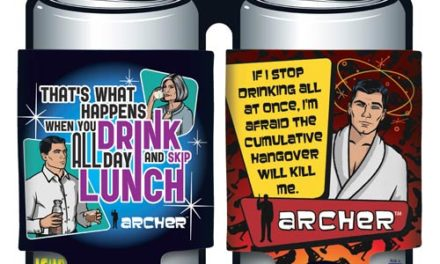 Archer Drinking Can Hugger 2-Pack