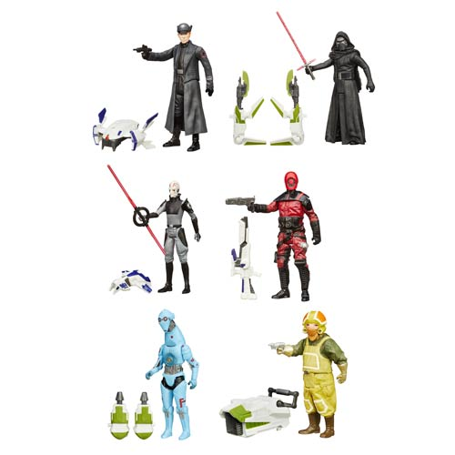 Star Wars: The Force Awakens 3 3/4-Inch Jungle and Space Action Figures Wave 2 Case