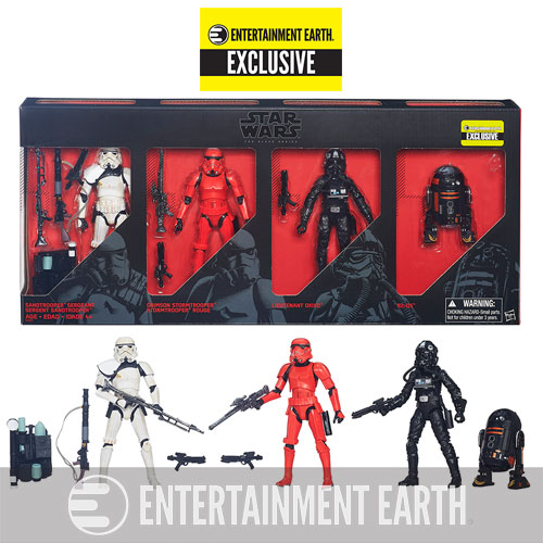Star Wars The Black Series Imperial Forces 6-Inch Action Figures – Entertainment Earth Exclusive