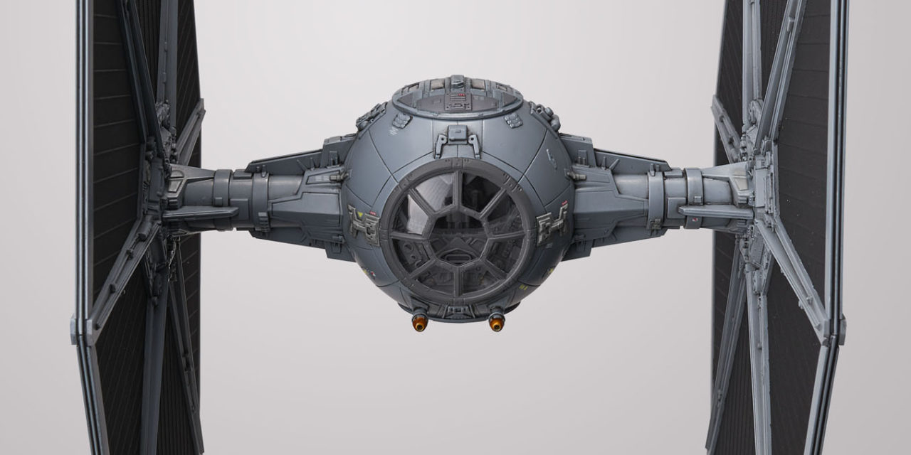 Star Wars 1/72 Scale Tie Fighter