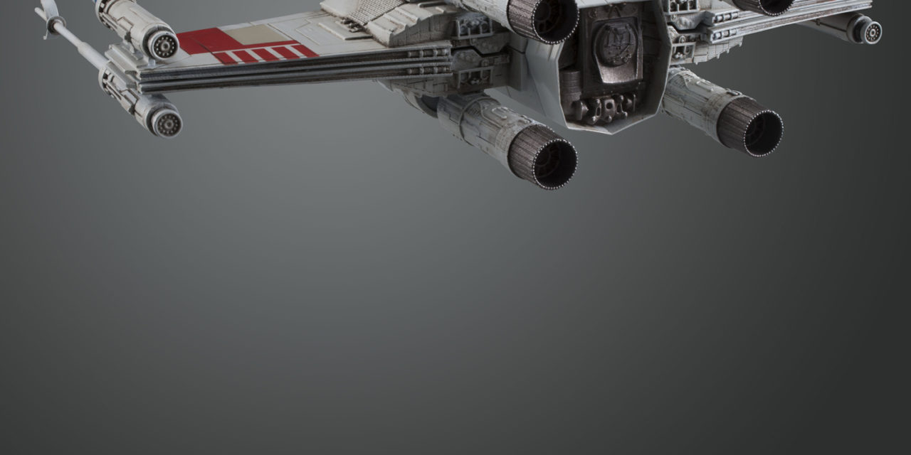 1/72 Scale X-Wing from Bluefin