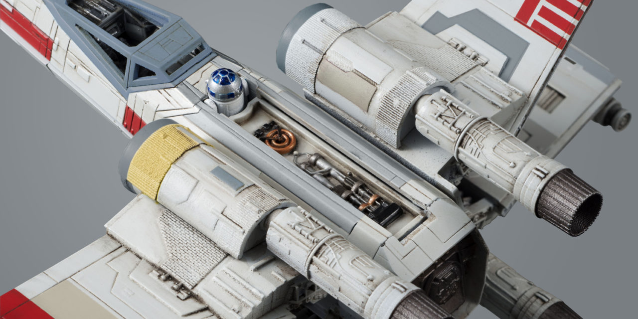 Star Wars 1/72 Scale Y-Wing Starfighter