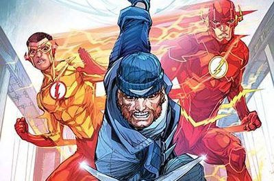 Flash #18 (Johnson Variant Cover Edition)