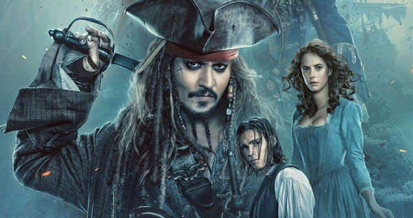 Pirates 5 Poster Sets Sail with Captain Jack, New Trailer Coming Tomorrow