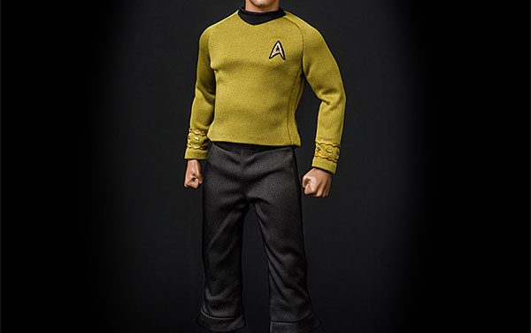 Star Trek TOS Captain Kirk 1/6 Scale Articulated Figure
