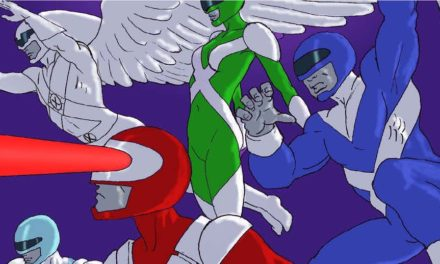 LINE IT IS DRAWN: POWER RANGERS/COMIC BOOK MASH-UPS!