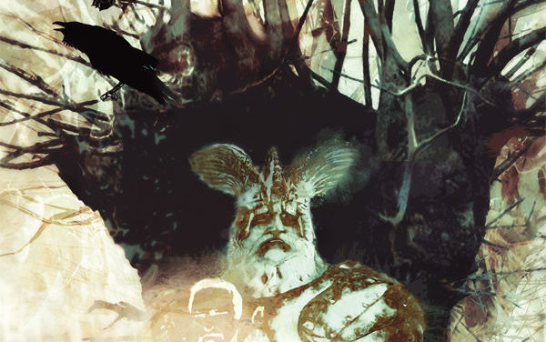 American Gods: Shadows #2 (Bill Sienkiewicz variant cover)