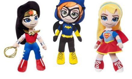 DC Super Hero Girls Plush Case