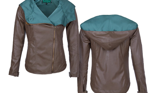 Rogue Class Ladies' Faux Leather Jacket