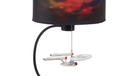 Star Trek Enterprise Table Lamp