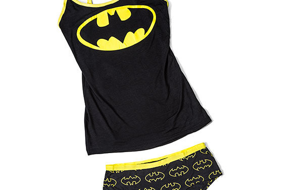 Batman Ladies' Tank and Panty Set