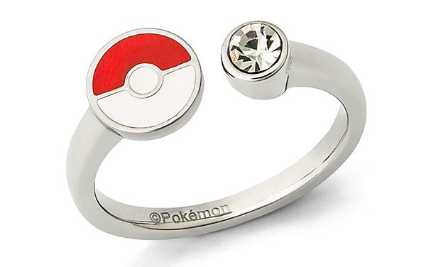 Pokémon Poké Ball & Crystal Ladies' Ring