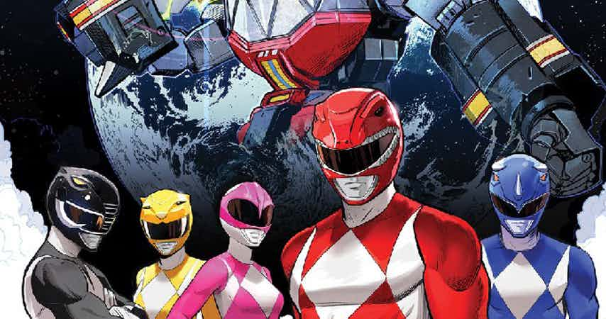 NEW POWER RANGERS ONGOING SERIES SET FOR JULY