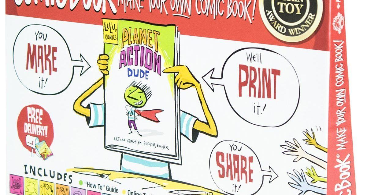 Lulu Jr. My Comic Book – Create Your Own Comic