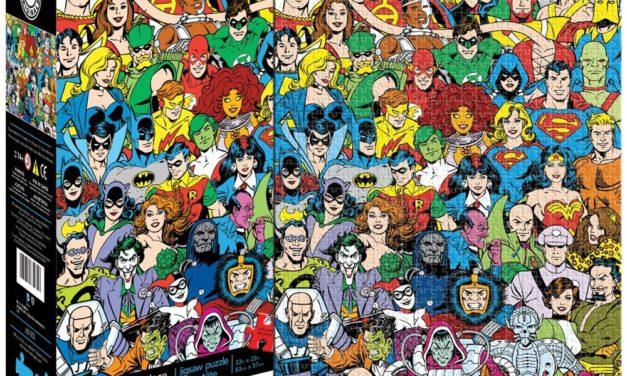 Aquarius DC Comics Retro Universe Jigsaw Puzzle (1500-Piece)