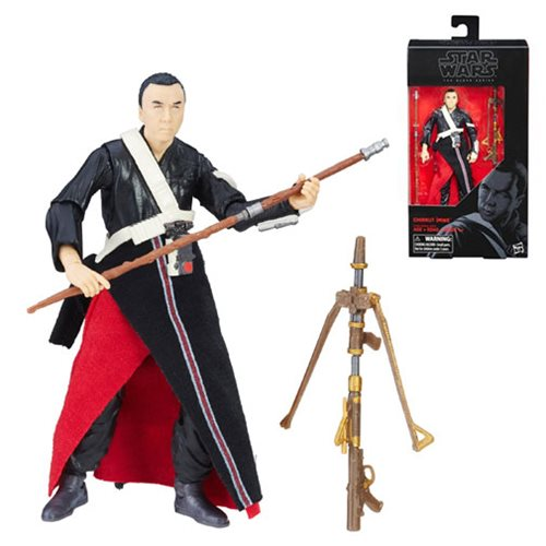 Star Wars Rogue One The Black Series Chirrut Imwe 6-Inch Action Figure