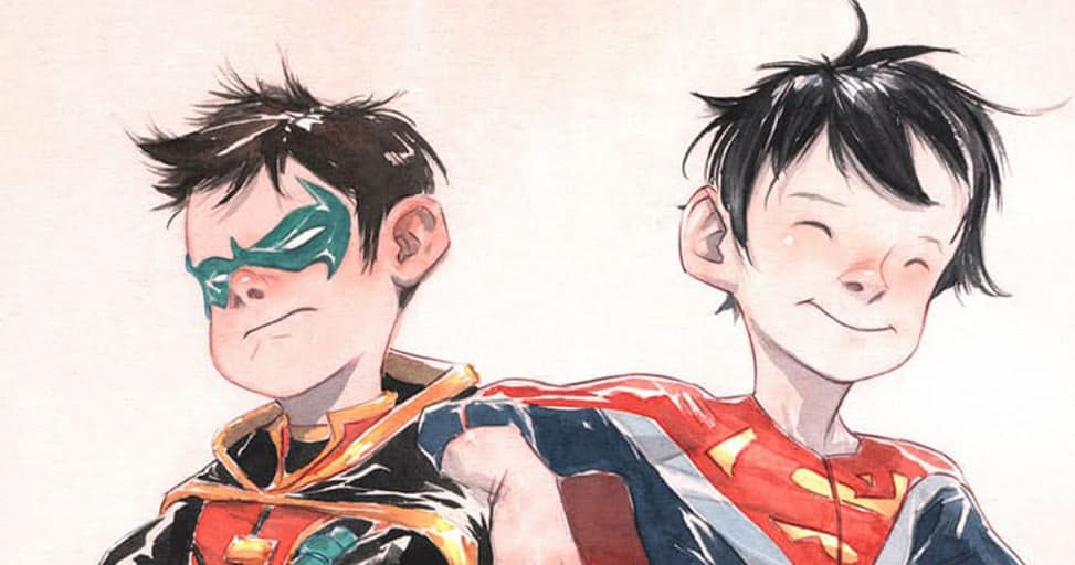 Robin & Superboy Reunite in Super Sons #1 Preview