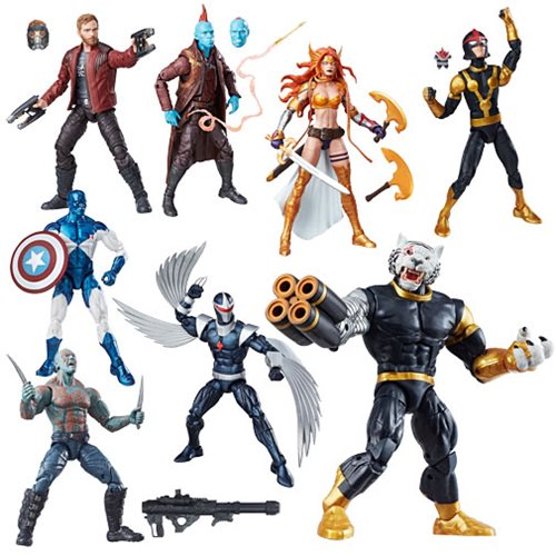 Guardians of the Galaxy Marvel Legends Action Figures Wave 1 – Free Shipping