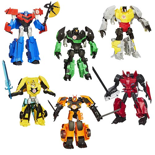 Transformers Robots in Disguise Warriors Wave 4 Revision 1 – Free Shipping