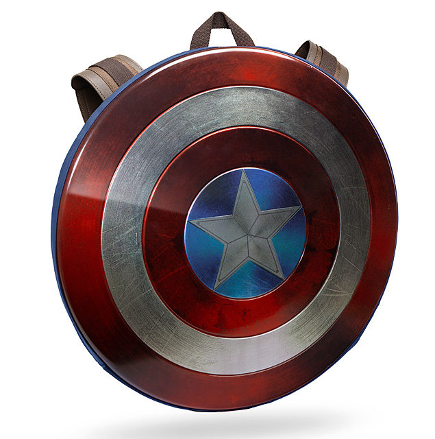 Captain America Civil War Distressed Shield Backpack – Limited Edition