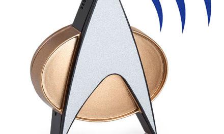 Star Trek TNG Bluetooth® ComBadge – Exclusive