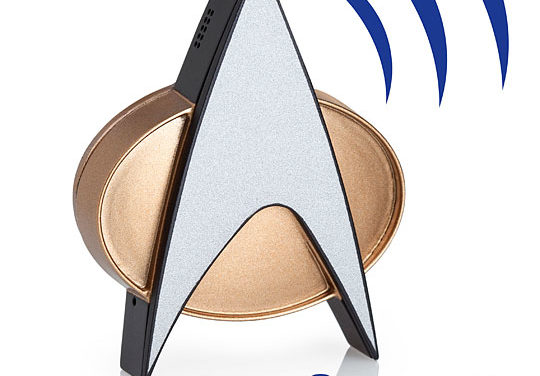 Star Trek TNG Bluetooth® ComBadge – Exclusive