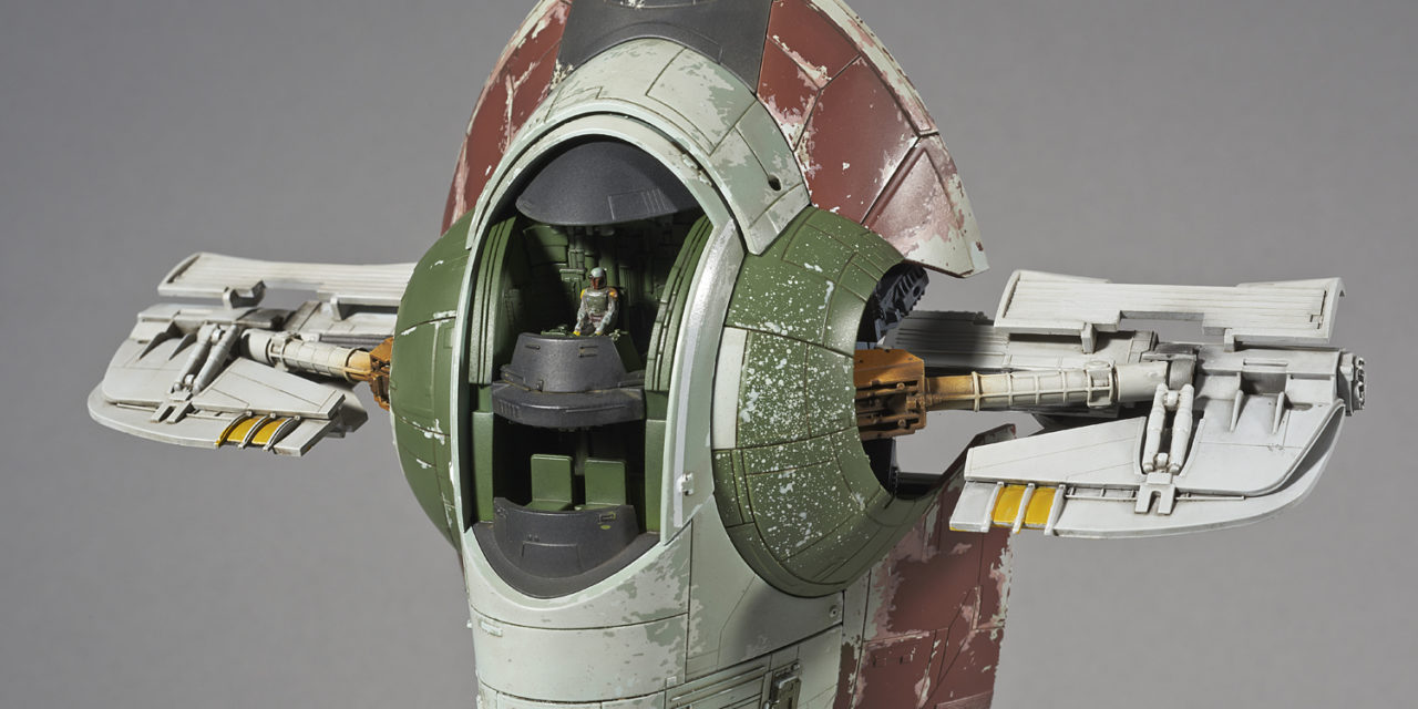 Star Wars 1/144 Scale Slave I