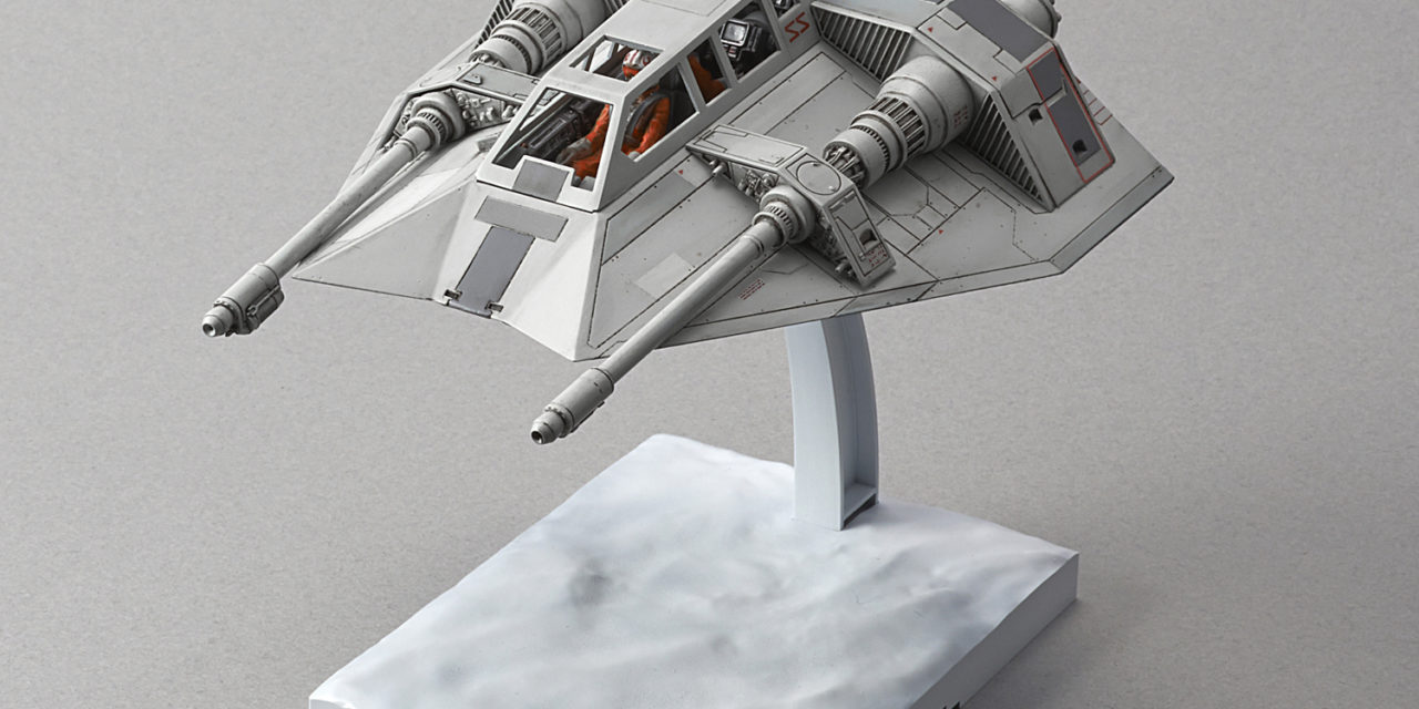 Star Wars 1/48 Scale Snow Speeder