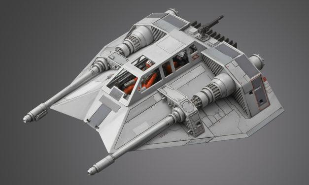 Star Wars 1/48 Scale Snow Speeder