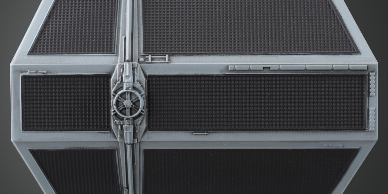 "Star Wars 1/72 Scale Tie Fighter Advanced x1 ""Darth Vader's Tie Fighter"""
