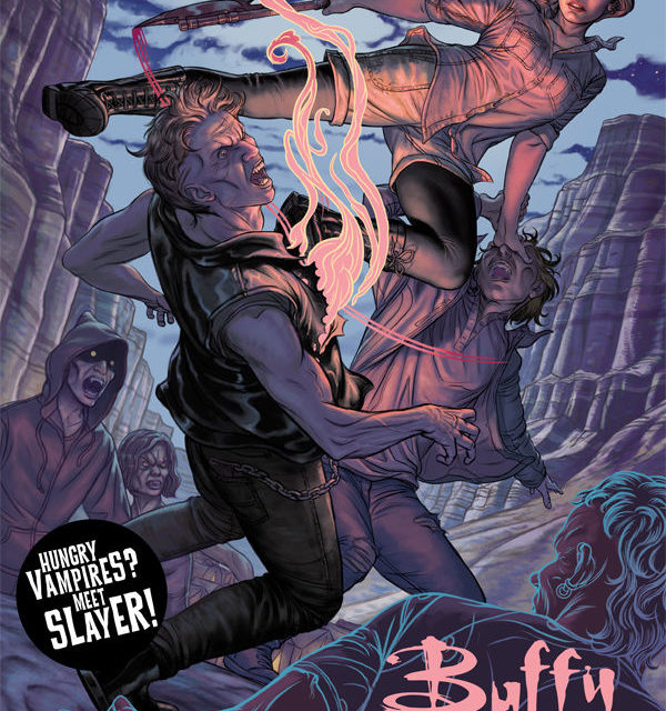Buffy the Vampire Slayer: Season Eleven #4 (Steve Morris cover)