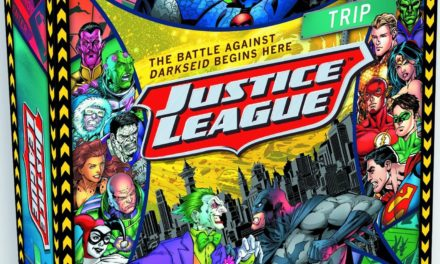 DC Comics Justice League Road Trip Board Game