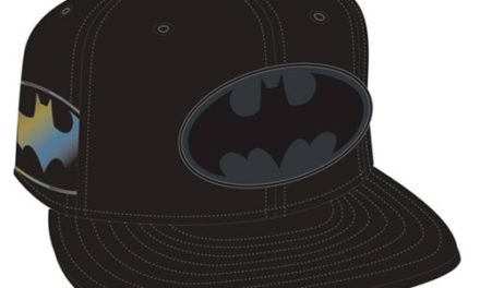 Batman Symbol Side Flect Snap Back Cap