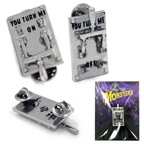 Universal Monsters Frankenstein Power Switch Pin