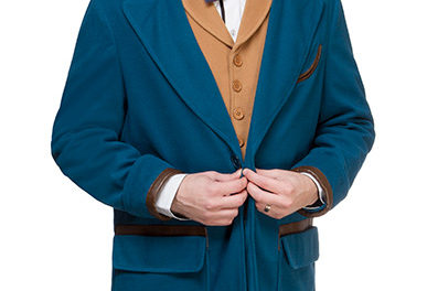 Fantastic Beasts Newt Scamander Cosplay Bundle (Jacket, Vest, Tie)