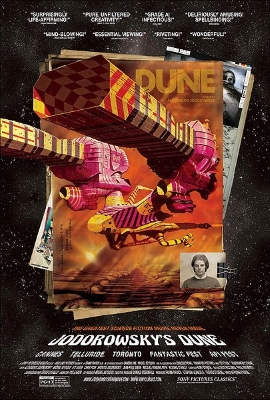 Jodorowsky's Dune One Sheet