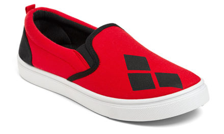 Harley Quinn Ladies' Slip-on Sneakers