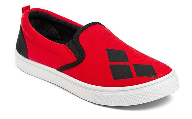 Harley Quinn Ladies' Slip-on Sneakers