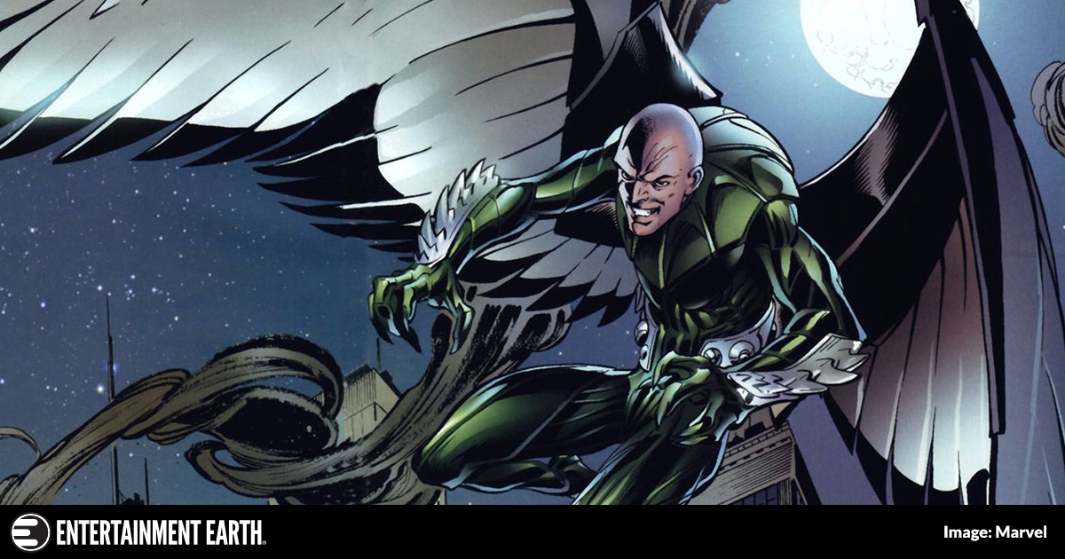 Get to Know Spider-Man: Homecoming Villain Vulture
