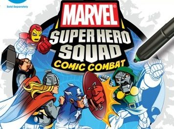 uDraw Marvel Super Hero Squad: Comic Combat – Xbox 360