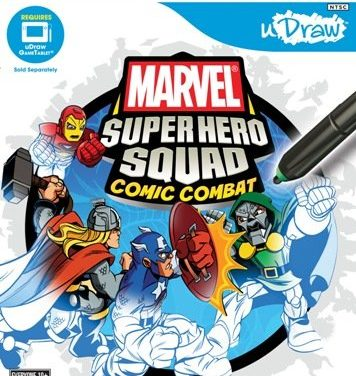uDraw Marvel Super Hero Squad: Comic Combat – Xbox 360