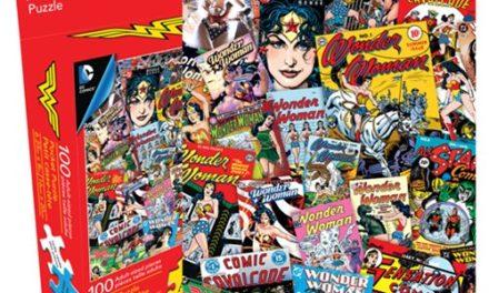 Wonder Woman 100-Piece Pocket Puzzle