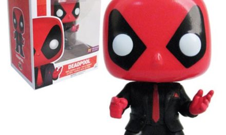 Deadpool Dressed to Kill Pop! Vinyl Bobble Head