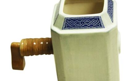 Thor's Hammer Molded Mug – Previews Exclusive