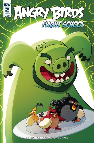Angry Birds Flight School #2 (Subscription Variant)