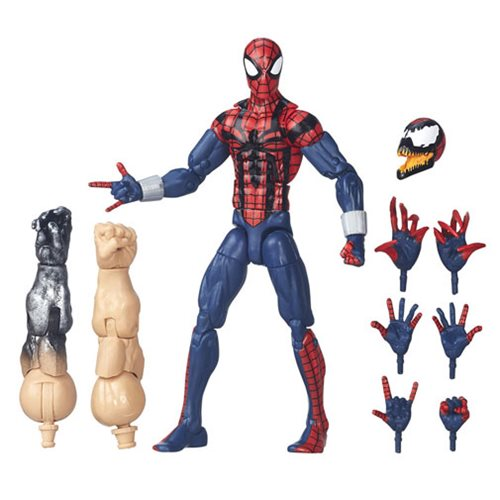 Amazing Spider-Man Marvel Legends Ben Reilly Action Figure