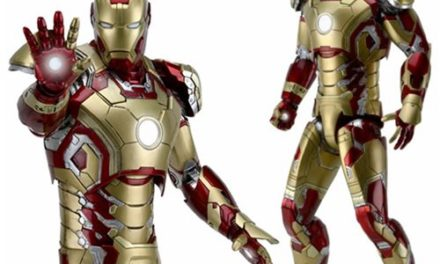 Iron Man 3 Mark 42 Armor 1:4 Scale Action Figure