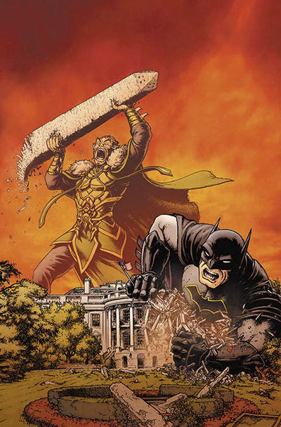 All Star Batman #9 (Burnham Variant Cover Edition)