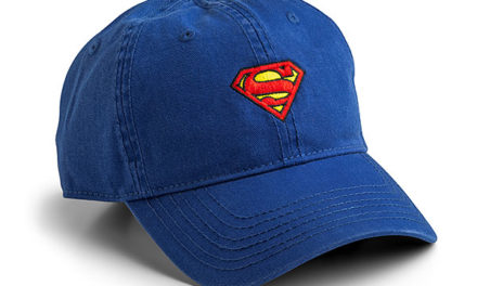 Superman Logo Strapback Hat